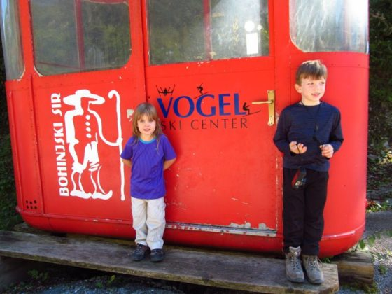 Vogel Cable Car, Lake Bohinj, Slovenia