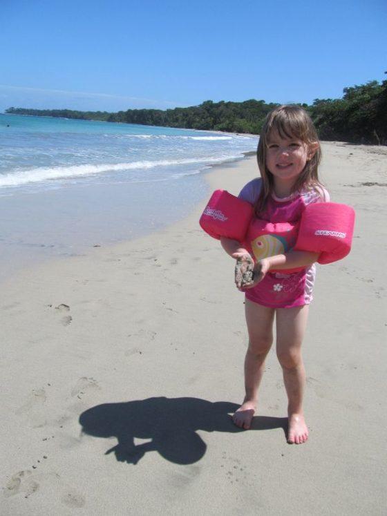 Playa Blanca, Cahuita Beach, Cahuita National Park Costa Rica