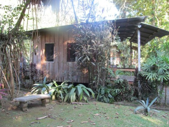 A cabin at the Casa Rio Blanco Ecolodge (a nice place to stop when going from San Jose to Puerto Viejo)