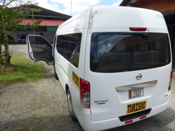 Shuttle Transportation is one of the easiest ways to get around Costa Rica