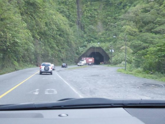Driving from San Jose to Puerto Viejo - passing through beautiful Braulio Carrillo National Park