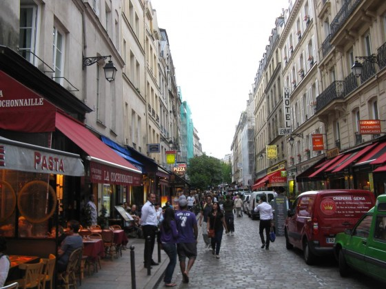 The Latin Quarter is a great place to head if you are eating cheaply in Paris