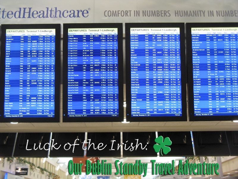 Luck of the Irish: Our Dublin Standby Travel Adventure