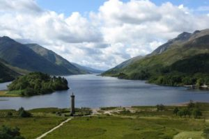Fabulous Friday Foto: Lake Shiel and the Glenfinnan Monument, Scotland