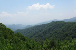Fabulous Friday Foto:  A Beautiful Vista in Smoky Mountains National Park, Tennessee