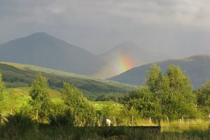 Fabulous Friday Foto: A Rainbow Seen While In the Highlands of Scotland