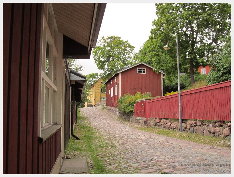 Fabulous Friday Foto: A Street in Porvoo Finland