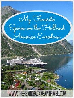My Favorite Spaces on the Holland America Eurodam