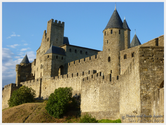 Walking around the walls taking pictures is one of the best things to do in Carcassonne France!