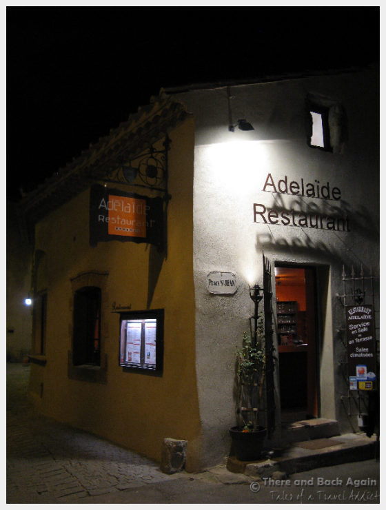 The Restaurant Adelaide - One of our favorite restaurants in Carcassonne France