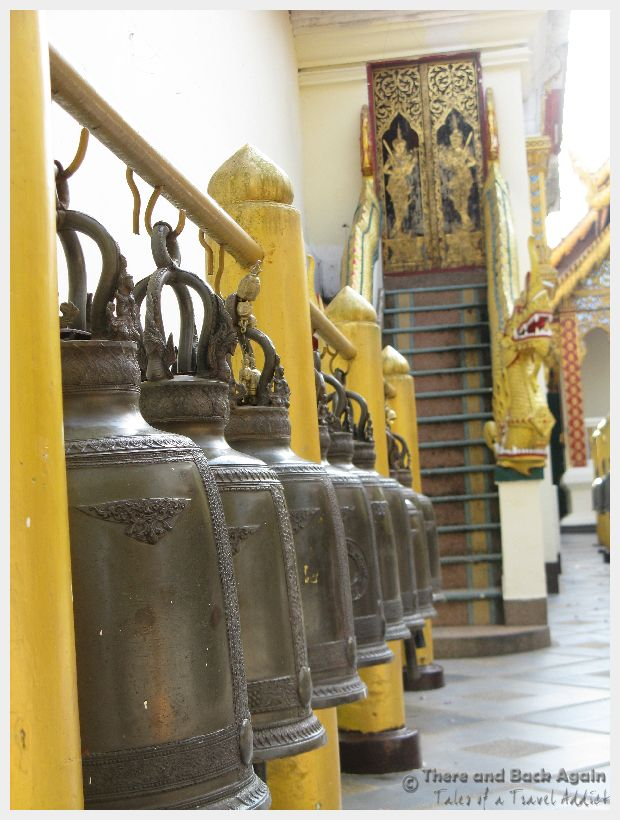 Fabulous Friday Foto: Bells at a Temple in Thailand