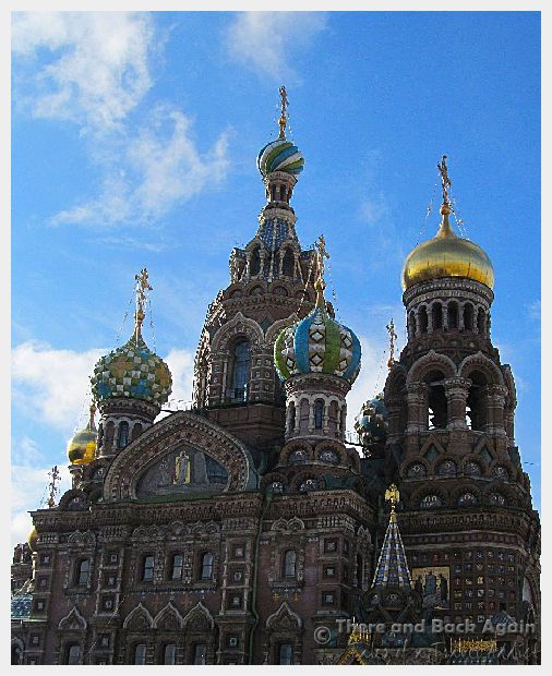 Fabulous Friday Foto:  Church of the Saviour on the Spilled Blood in St Petersburg Russia