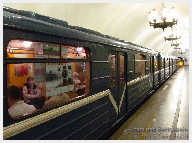 Fabulous Friday Foto: Subway Station in St Petersburg Russia