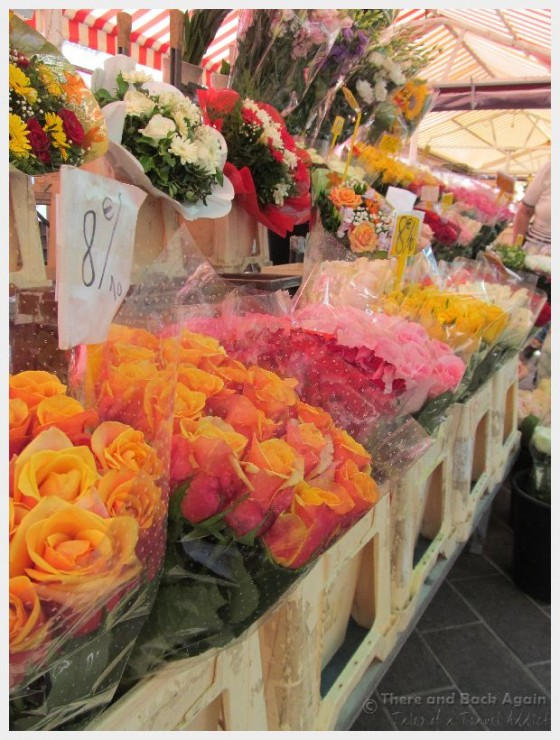 The Cours Saleya Flower Market in Nice France is one of our favorite things to do in Nice France on a budget!