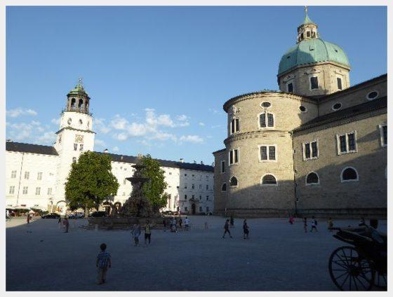 Salzburg with Kids - The Domplatz