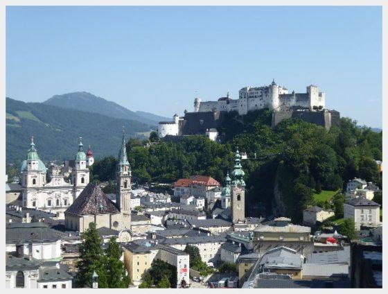 Salzburg Fortress - Austria and Switzerland Itinerary