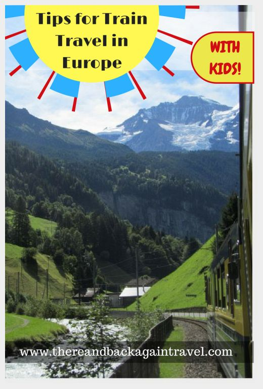Top Tips for Train Travel in Europe With Kids