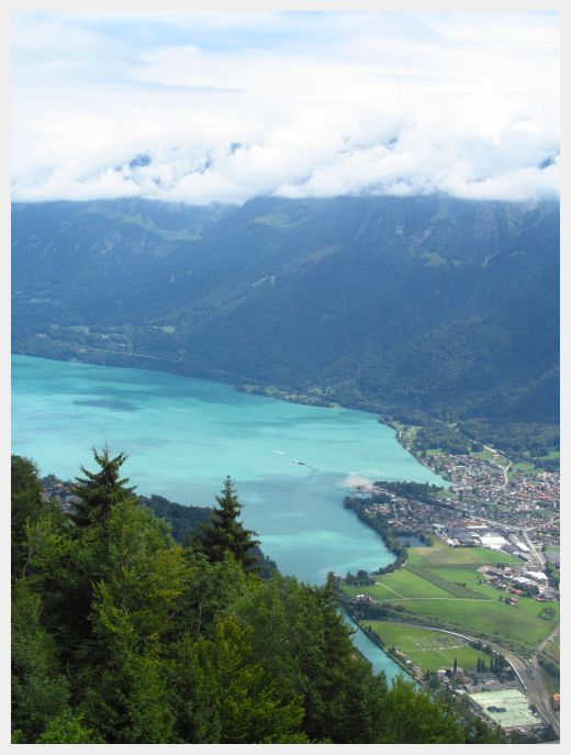 A cruise around Lake Thun is one of the best things to do in Interlaken with kids