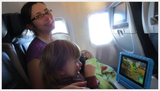 Traveling with toddlers - Mom almost NEVER gets to sleep on the airplane!