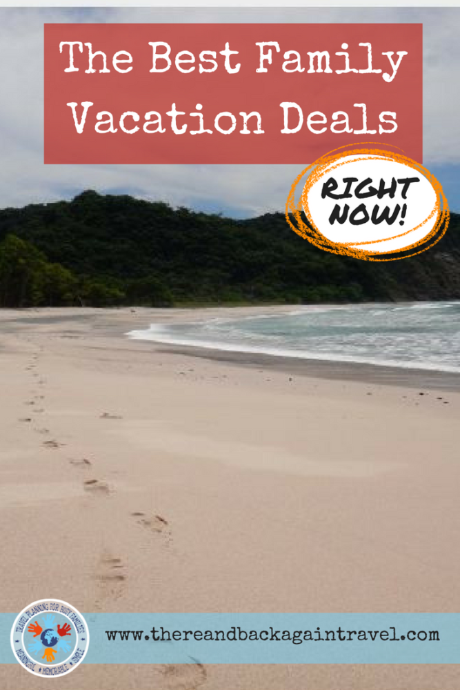 The Best Family Vacation Deals RIGHT NOW! Budget Friendly Family Travel Packages and Family Resort Discounts