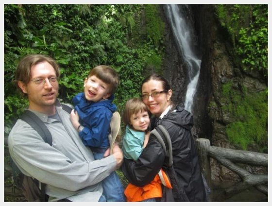 Mistico Arenal Hanging Bridges Park - Waterfall