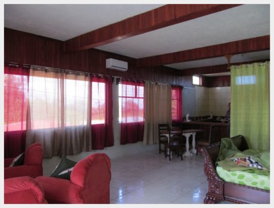 One of the renovated rooms at Arenal Xilopalo