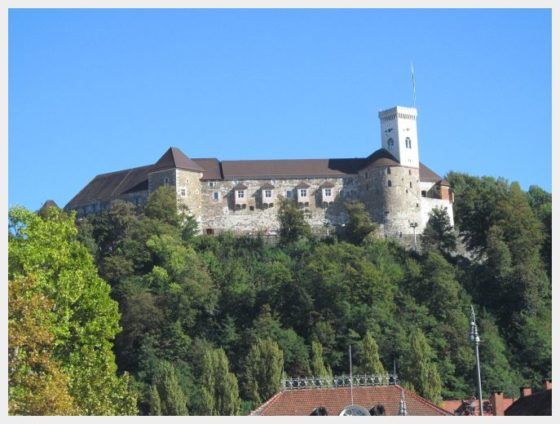 Ljubljana Castle - One of the best things to do in Ljubljana with kids.