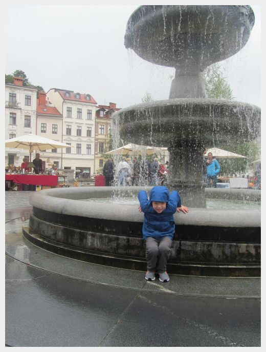 Exploring Ljubljana with kids