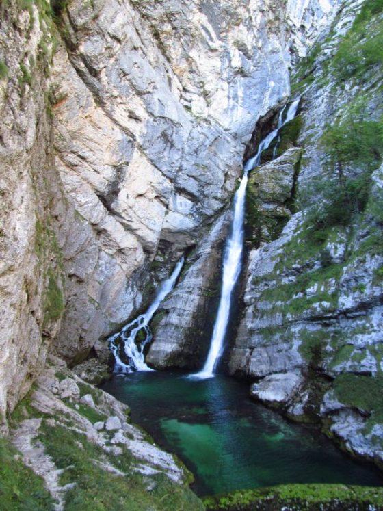 Slap Savica, Lake Bohinj Slovena