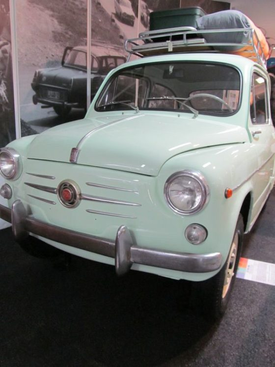 An old Yugoslavian Car in the Technical Museum of SLovenia
