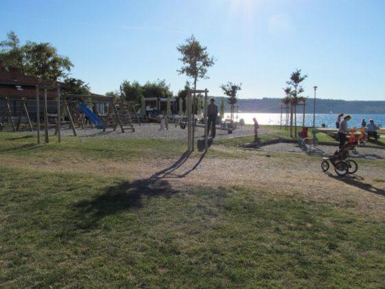 The playground in Izola, Slovenia