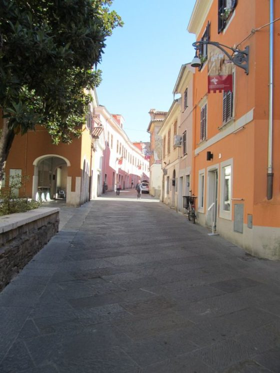 The beautiful, weathered streets of Koper Slovenia