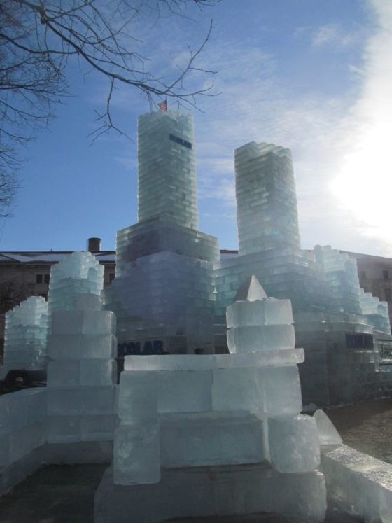 St Paul Winter Carnival Ice Castle