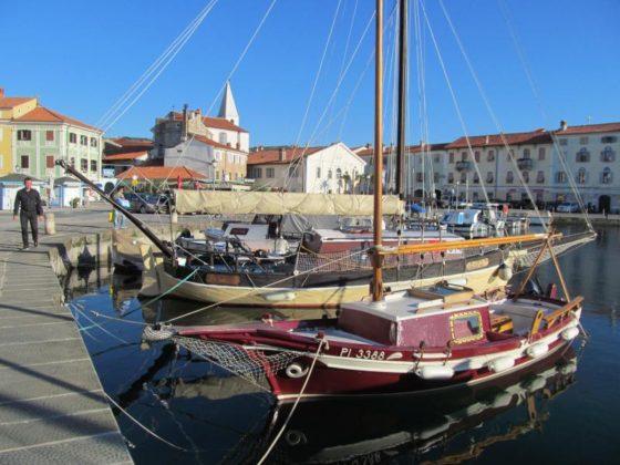 Izola Slovenia Harbor