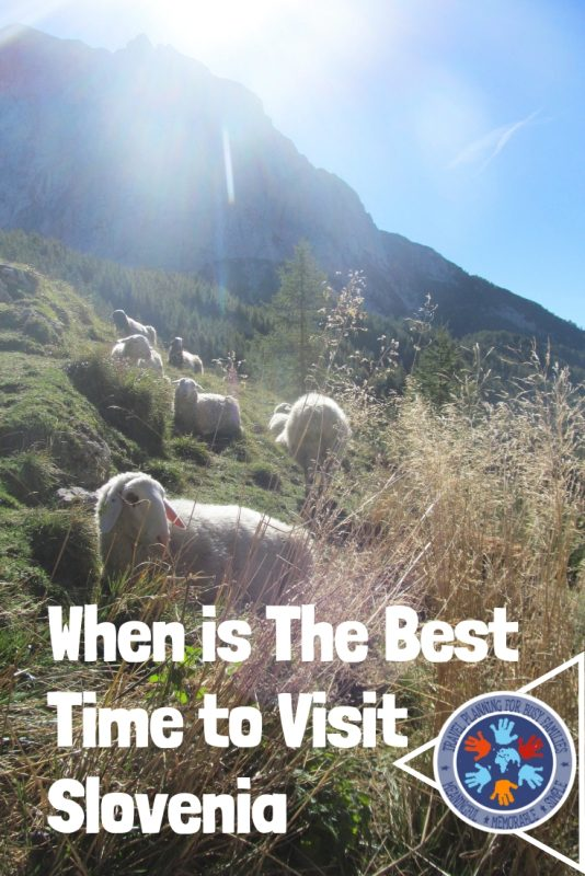 The Best Time to Visit Slovenia Pinterest Image