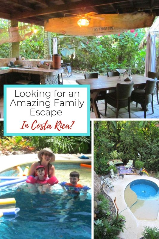Pinterest Image - Family Friendly Accomodations Near Playa Chiquita Costa Rica