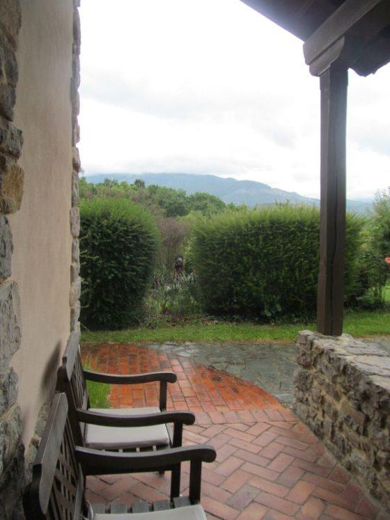 Our amazing porch at La Montana Magica Alojamiento Rural en Asturias