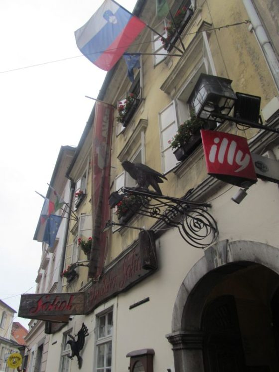 Gostlina Sokol in Ljubljana offers great examples of typical Slovenian food.