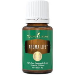 Aromalife is one of my very favorite essential oils.  This oil is one of the best essential oils for travel for supporting the muscles and circulatory systems.