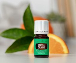 Peace and calming is one of my very favorite essential oils for travel.  It can be used in so many situations!